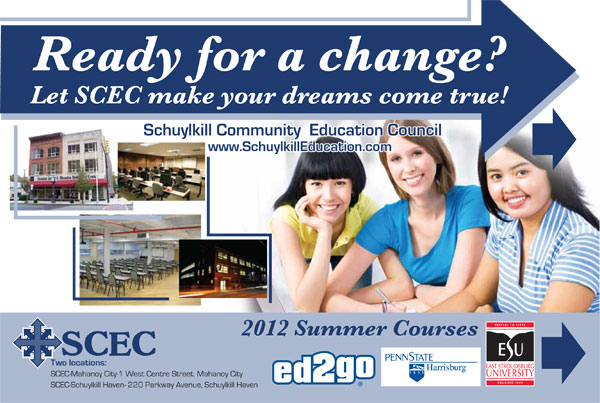 Summer 2012 Courses Postcard